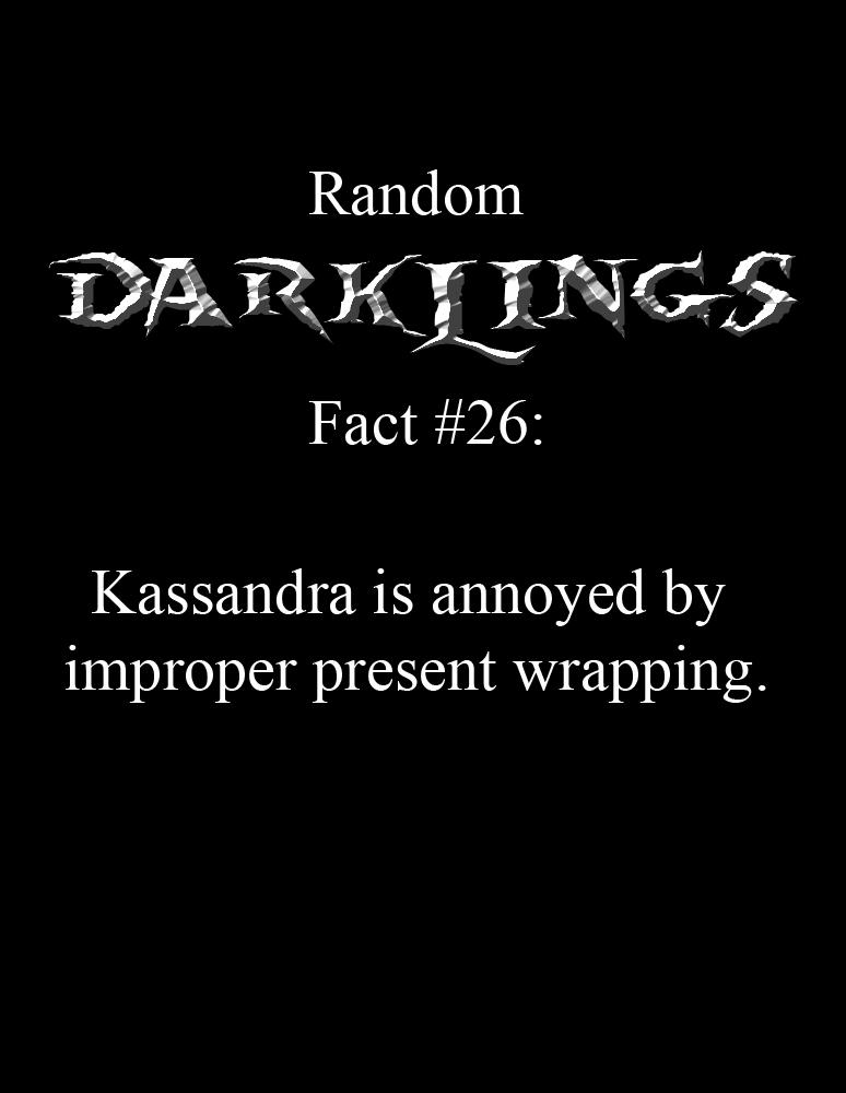 Random Fact #26